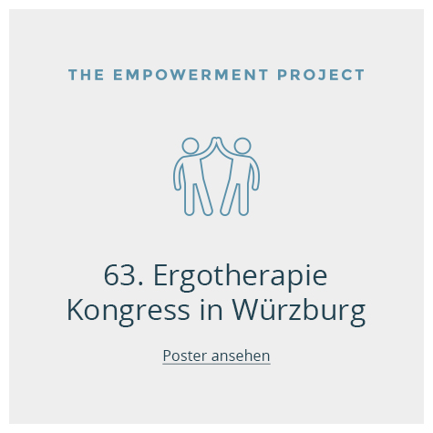 2018/06  63. Ergotherapie Kongress